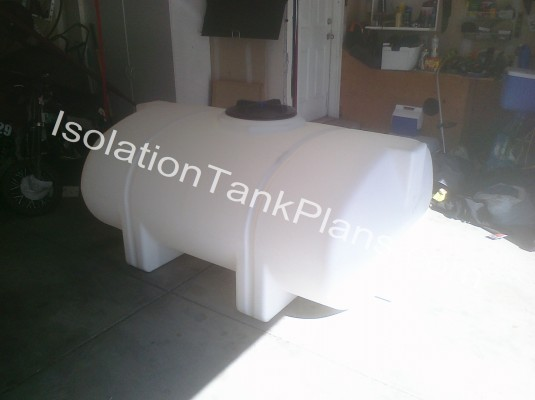 Isolation Float Tank Uncut