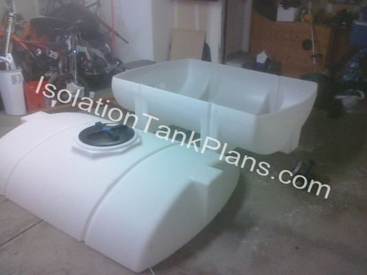 Cut Float tank
