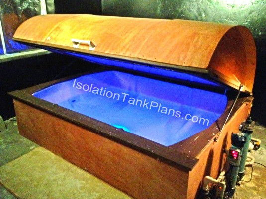 Isolation Tank Float Tank Sensory Deprivation Tank Plans