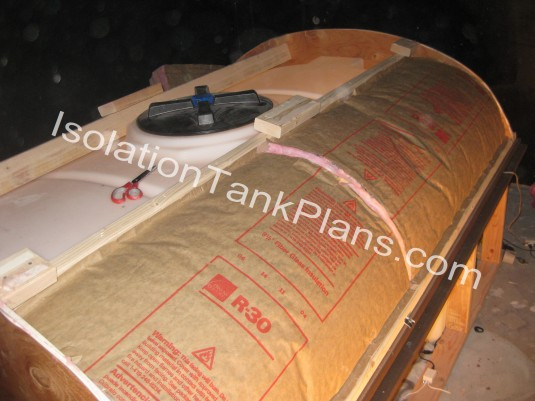 insulating your isolation tank plans