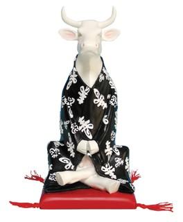 meditating cow for float tanks